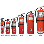ABC Dry Chemical Strike First Fire Extinguisher