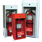 Classic Economy Galvanized Fire Extinguisher Cabinets by JL Industries