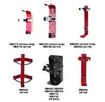 Mounting Brackets for Fire Extinguishers by JL Industries
