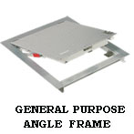 Steel Angle Frame Floor Access Door by USF