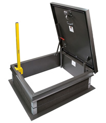 Retractable Safety Post by JL Industries