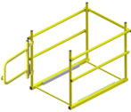 Saf-T-Hatch Safety Railing with Self Closing Gate by JL Industries