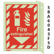 Jalite Fire Extinguisher Flag Mounted Sign