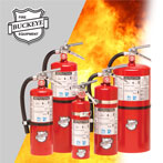 Standard Dry Chemical Buckeye Fire Extinguisher