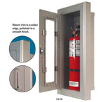 TITAN Series Aluminum Strike First Fire Extinguisher Cabinets