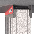 RectorSeal Track-Safe Fire Resistive Head of Wall Joints