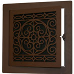 Artistic Hinged Access Panel by SteelCrest