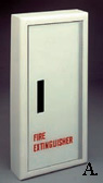 Panorama Frameless Acrylic Door Fire Extinguisher Cabinets by JL Industries
